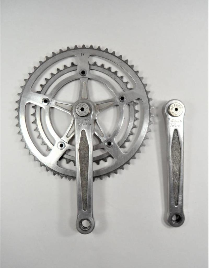 Nervar Nervar Star 170mm French Road Crankset 54/42T
