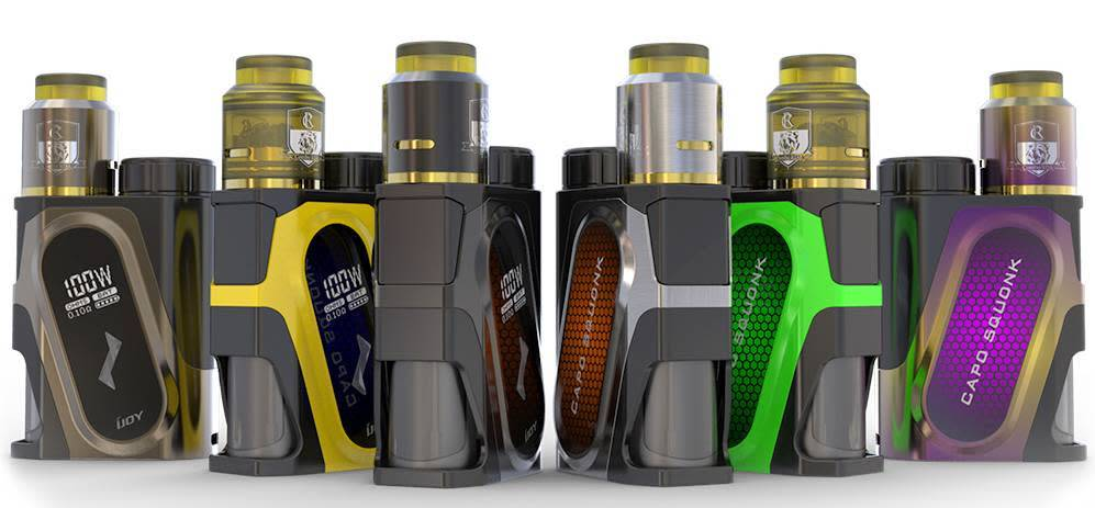 i-joy Capo Squonk Kit with Battery