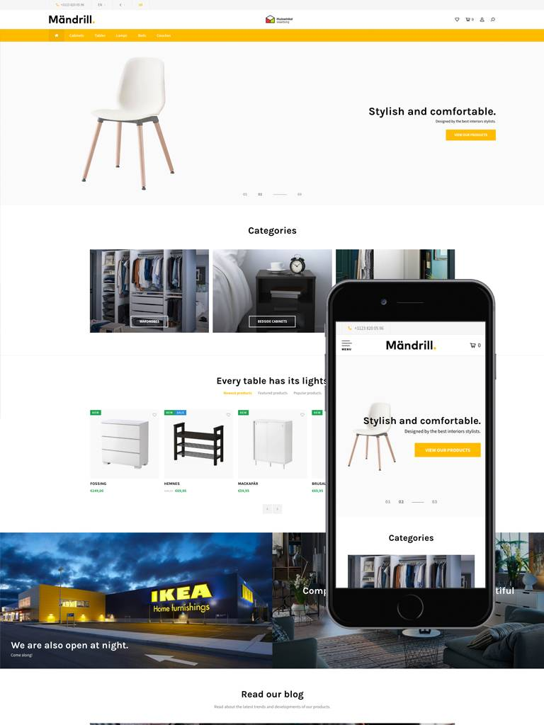 Themes for eCommerce