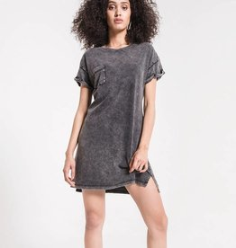 Z Supply Washed Cotton T-Shirt Dress