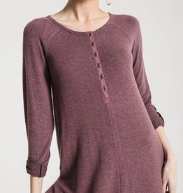 Z Supply The Marled Henley Dress