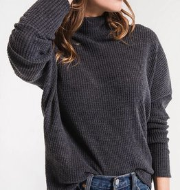 Z Supply The Mock Neck Waffle Thermal