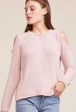 BB Dakota Hot n' Cold Cold Shoulder Sweater
