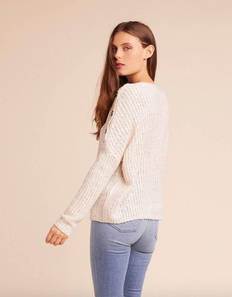 Jack by BB Dakota Level Up Buttoned Shoulder Sweater