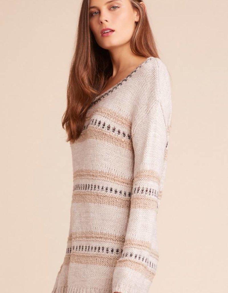 Jack by BB Dakota Spice of Life Stripe Sweater