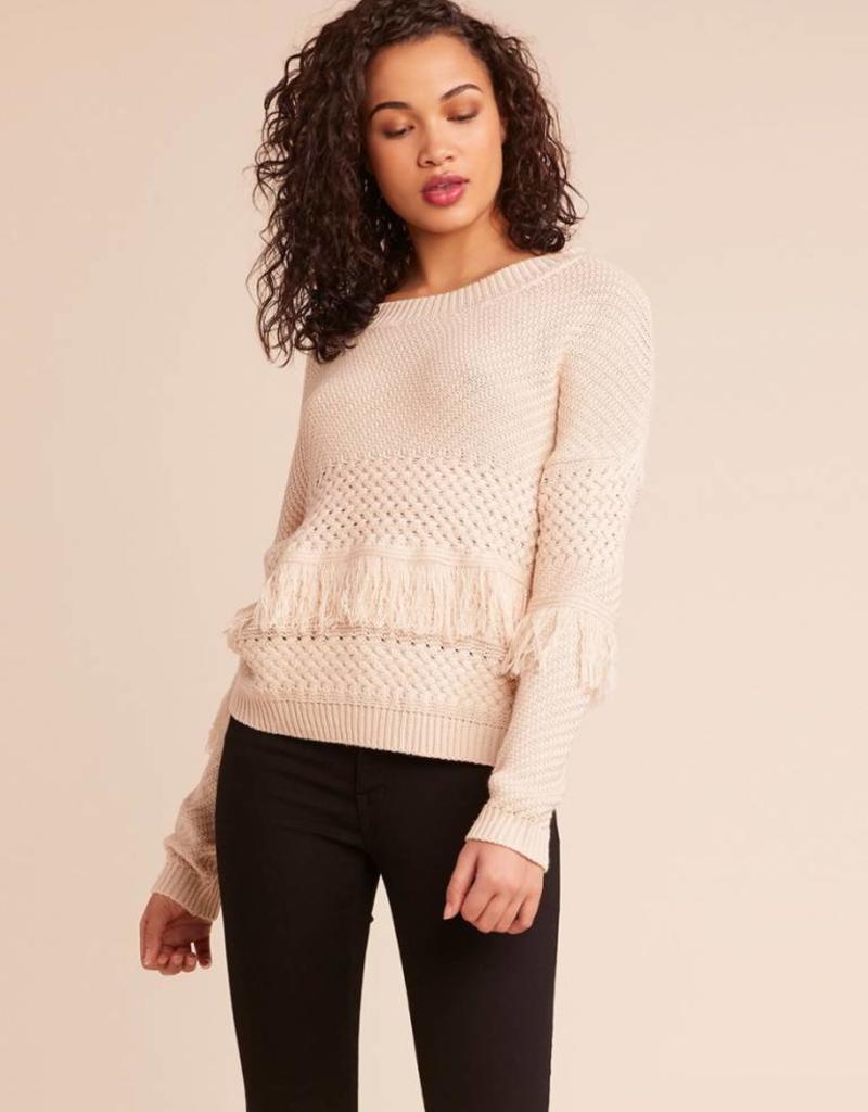 Jack by BB Dakota Mix It Up Fringe Sweater