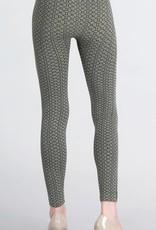 Nikibiki Textured Tile Print Leggings