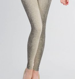 Nikibiki Snake Skin Print Leggings