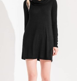 Z Supply The Brushed Rib Cowl Dress