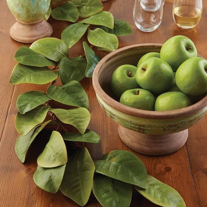4 Ft Magnolia Leaf Garland