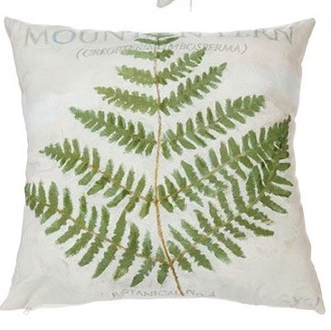 Botanical Fern Pillow