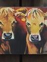 Double Cow Box Print