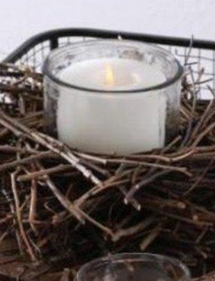 Twig Nest Candle Holder