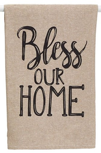Bless Our Home Towel