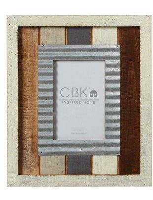 5x7 Galvanized Wooden Slat Frame