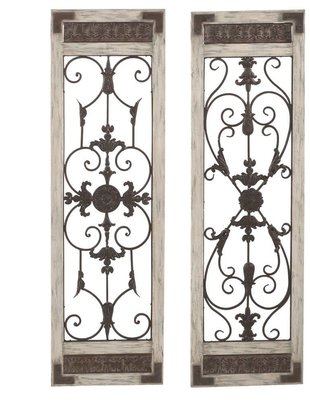 Scroll Wall Decor Panel