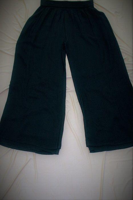 Black Lined Pants