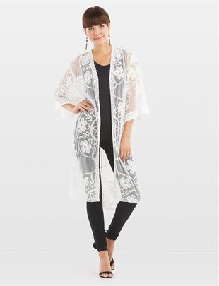 Laurel Lace Duster