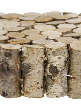 Mini Birch Log Disk
