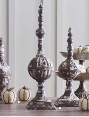 Rustic Finial (3 Sizes)