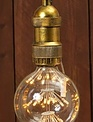 Battery Operated Hanging Light Bulb Fixture