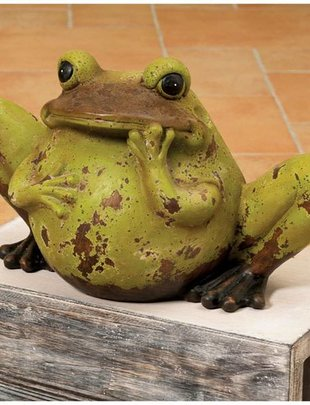 Rustic Terra Cotta Frog (2 Sizes)