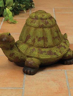 Rustic Terra Cotta Turtle