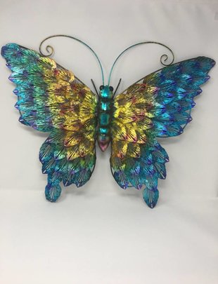 Multicolor Butterfly Wall Decor (2 Styles)