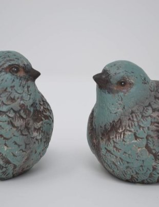 Vintage Teal Bird (2 Styles)