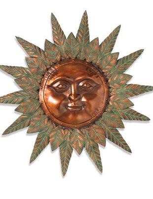 Verdigris Sun Face (2 Styles)