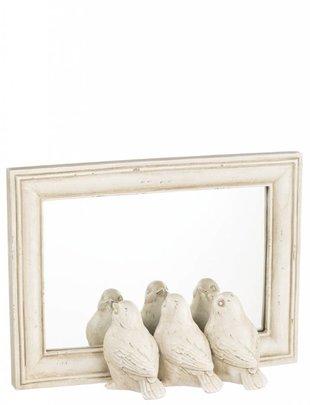 Cream Triple Bird Mirror