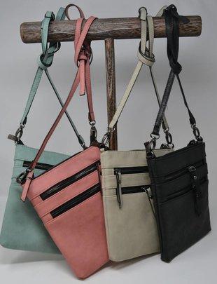 Harlow Zip Crossbody Bag (7 Colors)