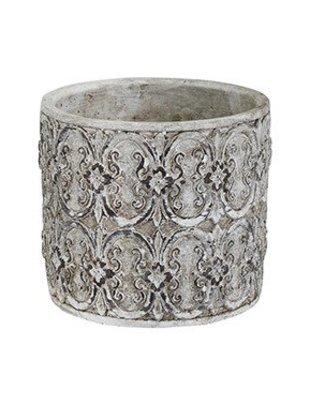 Floral Scroll Pot
