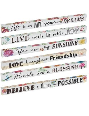 Happy Life Message Sign (6 Styles)