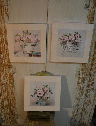 Vintage Pink Rose Print (3 Styles)