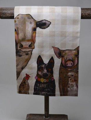 Cattle Dog & Crew Towel
