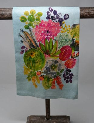 Succulent Bouquet Towel