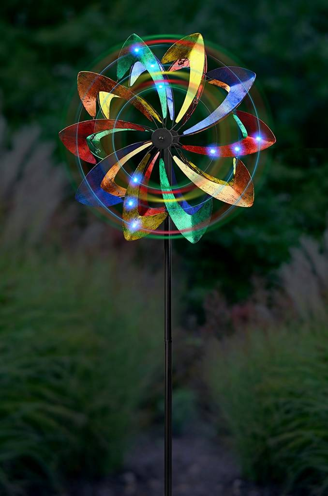 Multicolor LED Kinetic Spinner