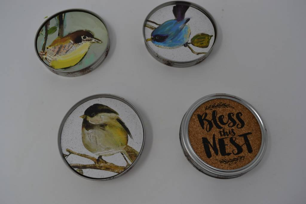 Bless This Nest Coaster Set
