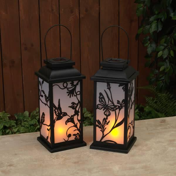 Solar Fire Glow Lantern