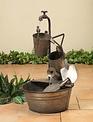Galvanized Antique Garden Fountain