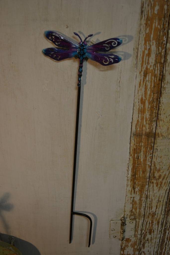 Colorful Dragonfly Stake