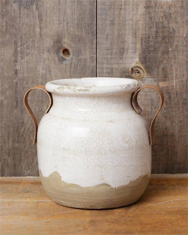 Earthenware Two Handled Vase The Last Straw