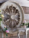 Antiqued Medallion Wall Art