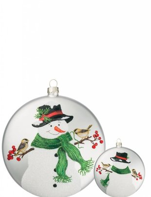 Frosty the Snowman Disk Ornament