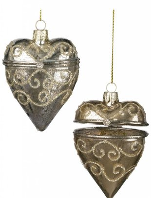 Heart Box Ornament (2 Colors)