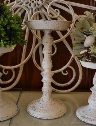 Cream Candle Holder (3 Sizes)