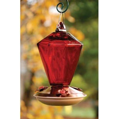 Red Prism Hummingbird Feeder