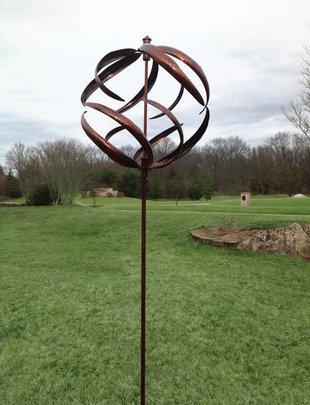 Amber Sphere Spinner