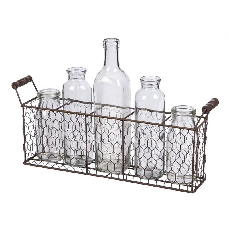 5 Bottle Wire Caddy